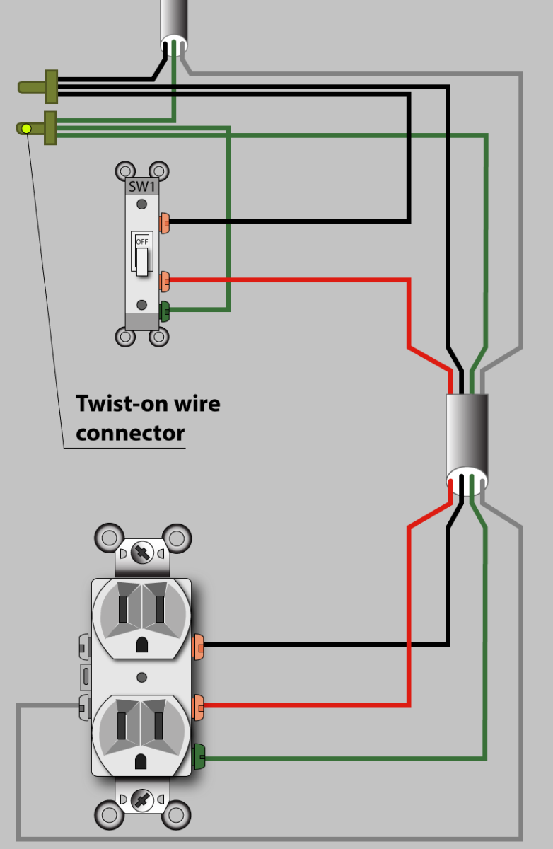 Prime How To Wire An Outlet To A Switch Diagram Basic Electronics Wiring Mandiz Mohammedshrine Wiring Diagrams Mandizmohammedshrineorg