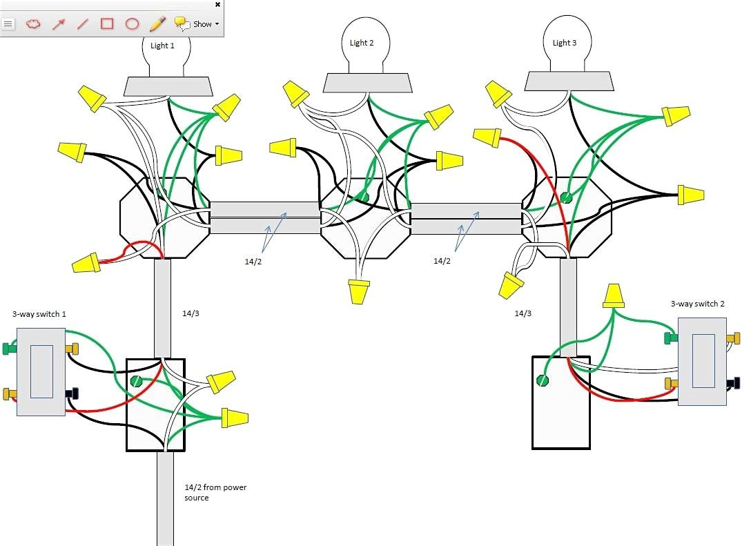 Incredible Wiring Diagram For 3 Way Switch With 2 Lights Wiring Diagram Mandiz Mohammedshrine Wiring Diagrams Mandizmohammedshrineorg