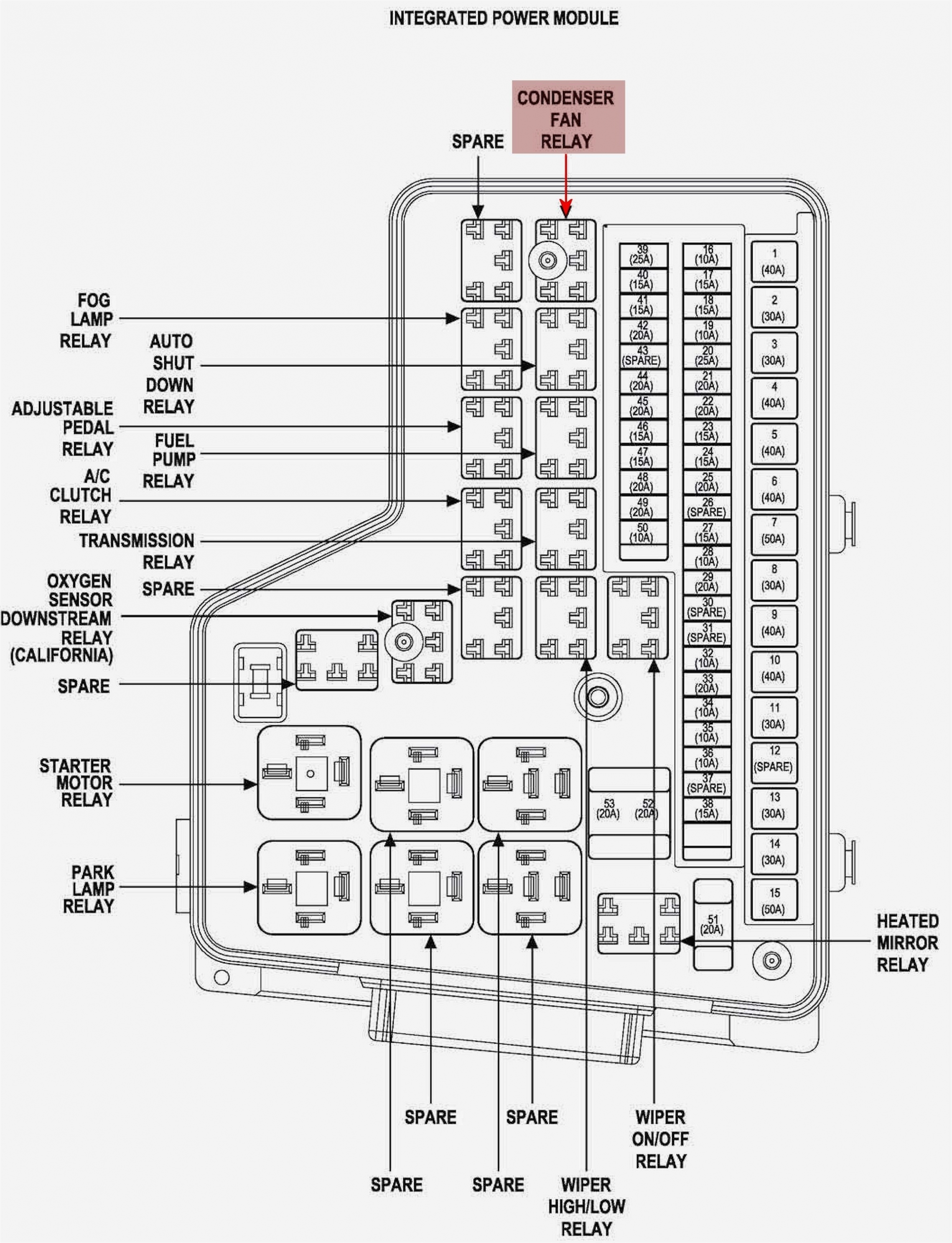 Diagram  2002 Dodge Neon Brake Light Fuse Full Version Hd